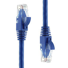 Blue 75FT Ethernet Patch Cable Cord-Cat6,550MHz,10Gbp,RJ45-Canadian Seller