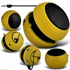 3.5mm Mini Capsule Travel Portable Rechargeable Speaker✔YELLOW