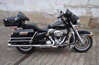 Kofferbügel Reling Bügel Sturzbügel Harley Davidson Touring 97 - 08 Koffer chrom