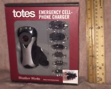 New/unused, totes Emergency Cell-Phone Charger (battery free charging system)