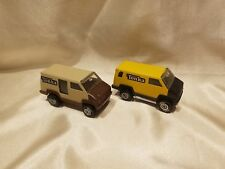 Vintage 1978 Tonka Delivery  Vans Pressed Steel Lot of 2 NEAR MINT!