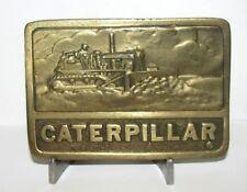 Caterpillar Cat D8 D9 D4 Crawler Tractor Bulldozer Belt Buckle 1975 Adezy Denver