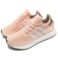 adidas Originals Swift Run W Pink Black White Women Running Shoes Sneaker B37681