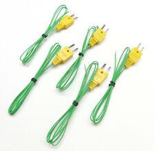 K Type Thermocouple Wire For Digital Thermometer Temperature Sensor Probe Tc1 5p