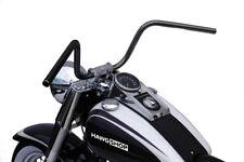Lucas Lenker 1 Zoll Apehanger schwarz mit ABE für Honda VT 750 1100