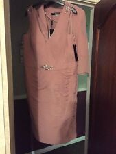 VENI INFANTINO  NEW  MOTHER OF THE BRIDE  DRESS & JACKET OUTFIT SIZE 18  BNWT