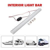 12V LED Tube Strip Light Roof Lamp Caravan Camper Motorhome Boat White Switched