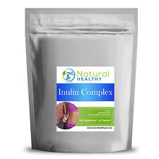 Inulin Complex with Psyllium Husk & Acidophilus 90 Pills High Quality UK Product