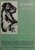 DIALOGHI RIVISTA BIMESTRALE DI LETTERATURA ARTI E SCIENZE N.6 1969
