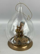 Fontanini By Roman Drummer Boy Baby Jesus Hand Blown Glass Ornament 56245 1992
