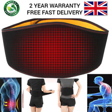 USB Heat Waist Belt Brace for Lower Back Pain Relief Therapy Support Hot
