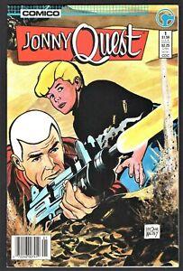 JONNY QUEST #1 Comico Comics 1986 - Cover By Doug Wildey
