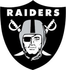 20 water slide nail decals transfer Raiders football 3/8 inch trending