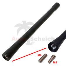 Antenne Stabantenne 16cm M5 M6 Antennenstab Dachantenne für VW Polo Golf Passat