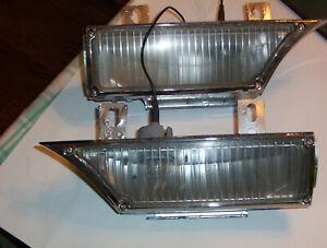 1962 Cadillac Fender Cornering Lamp Lights Pair-- Repair & Restoration Service