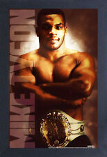 MIKE TYSON HEAVYWEIGHT CHAMPION IRON 13x19 FRAMED GELCOAT POSTER BOXING FIGHTING