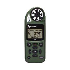 Kestrel 5500 Weather / Environmental Meter - OD GREEN - 0855OLV - Dealer