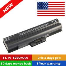 Battery For Sony Vaio PCG-7192L PCG-81114L VGN-FW351J/H VGN-CS19 VGN-AW VGN-NW