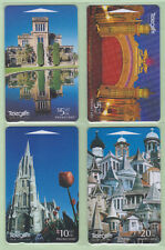 New Zealand - 1997 Turrets & Towers Set (4)  - NZ-G-165/168 - VFU
