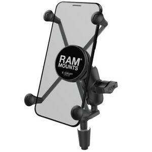 RAM-B-176-A-UN10U  RAM X-Grip Large Phone Mount with Motorcycle Fork