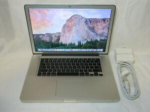 """Apple Macbook 15"""" 15.4"""" Core i7 2.4GHz / 16GB Ram / 1TB SSD / Radeon HD 6770M"""