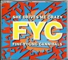 Fine Young Cannibals-She Drives Me Crazy 3 TRK CD MAXI 1988