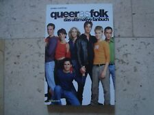 QUEER AS FOLK QAF exclusive import book TONS photos Gale Harold Randy Harrison