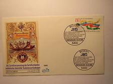 Cartellversammlung 1986 Kommersbuch - Ersttagsbrief Briefmarke ETB / Studentika