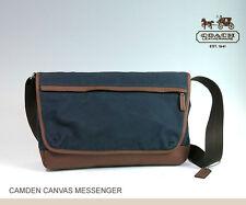 Brand NewCoach Camden Canvas Messenger ~ F70829 - GM/Navy