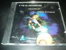 """RARE! CD 1 TITRE """"A VIE DE RECHERCHE"""" Diane DUFRESNE"""