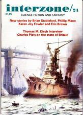 INTERZONE #24 - UK Science Fiction, THOMAS DISCH interview, Brian Stableford