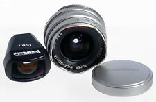 Voigtlander 15mm F/4.5 Super Wide-Heliar Aspherical Lens + 15mm Viewfinder