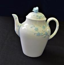 COPELAND SPODE England Blanche Chine GEISHA Light Blue 5 Cups Coffee Pot #Y3456