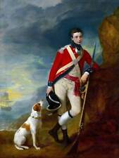 Dipinto ritratto Gainsborough Officer 4th Regiment FOOT poster stampa bb12710a
