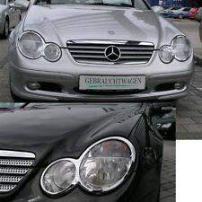 Mercedes W203 CL203 Sportcoupe Faro Telaio in Cromo