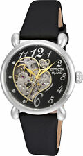 Invicta Women's Objet D'Art Automatic Stainless Steel Black Satin Watch 22647