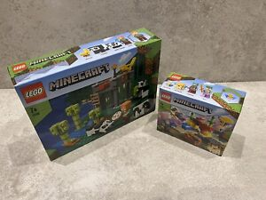 Lego Minecraft 21158 & 21164 Bundle | BRAND NEW | Free Delivery Panda & Coral