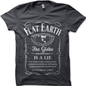 Flat Earth, Earth is FLAT, Firmament, NASA Conspiracy Globe Lie t-shirt 9806