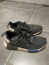 adidas nmd r1 og boost beaters black blue uk 9