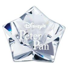 New! Disney figure Swarovski Peter Pan 'Peter Pan Title Plaque' 1036622