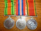 WW2 Africa Star Medal Group of (3) to Murray, all named with Papers, Air Force