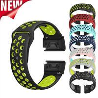 Sport Silicone Band Wrist Strap For Garmin Fenix 5X/5X Plus Fenix 3/3HR Watch