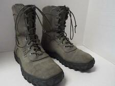 """ROCKY 8"""" MILITARY COMBAT SPECIAL OPS 103 S2V SAGE GREEN BOOTS SIZE 5.5 M U.S.A."""