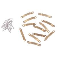 12x 1:12 Dollhouse Miniature Furniture Drawer Door Handles Accessories Toys YK