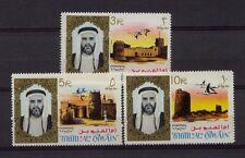 Umm Al Qiwain 1964 SG#16-18 3R-10R Buildings MNH
