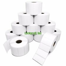 20 Rolls 2x1 Direct Thermal Labels - 1300/roll Zebra LP2824 LP2422 LP2844 ZP450