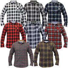 Camisas y polos de hombre de manga larga Brave Soul 100% algodón