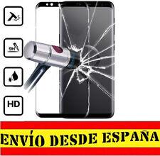 "Protector 3D COMPLETO CURVO NEGRO SAMSUNG GALAXY S9 ""5.8 CRISTAL TEMPLADO 0.33mm"