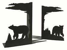 Bear Bookends Black Bookend