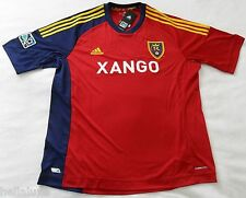 nw~Adidas REAL SALT LAKE MLS USA Football Soccer Jersey Shirt 2012 Top~Men Sz XL